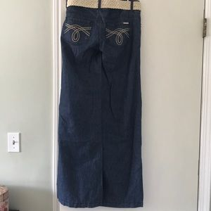 Like New Michael Kors Jeans with belt. Size 4